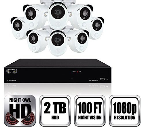 Night Owl - Video Security with 8 Infrared Cameras 6
