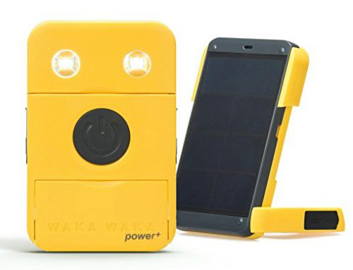 WakaWaka Power + – Solar Powered Flashlight/Charger, Yellow