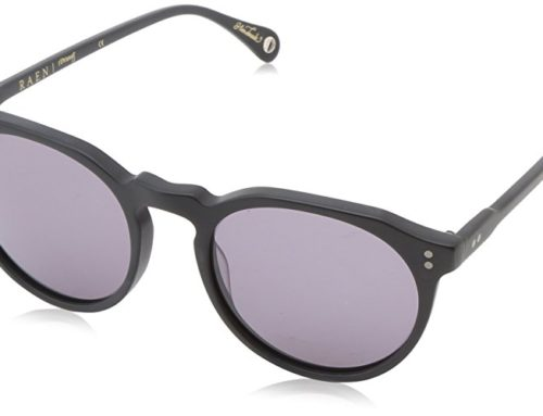 Raen – Remmy, round sunglasses (matte black)